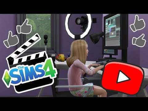 BECOMING A YOUTUBER! | How To Get Famous! | The Sims 4 Ep.3