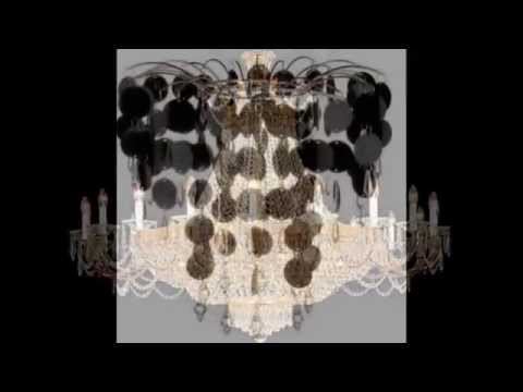 17062014 black chandeliers with crystals – Black Chandelier with Crystals