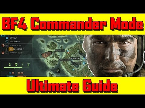 Battlefield 4 Launch Commander Mode Gameplay Guide/Tutorial