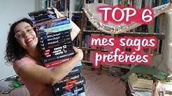 TOP 6 📚 mes sagas préférés