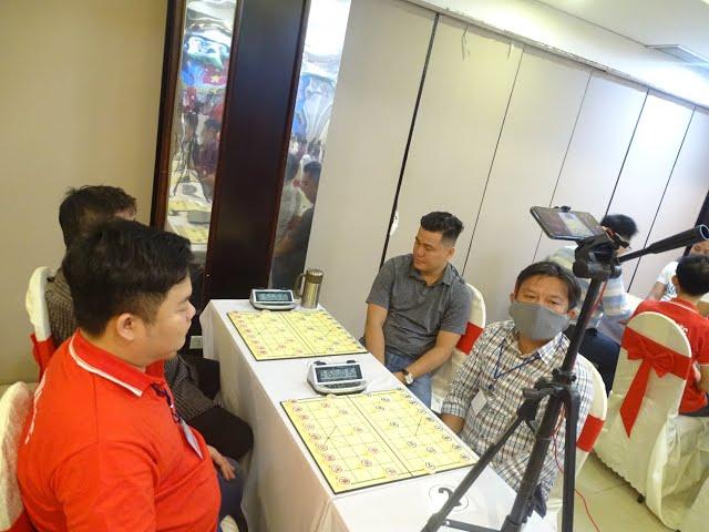 Trực tiếp : Hà Văn Tiến vs Nguyễn Anh Mẫn Vòng 2 Giải cờ nhanh A1 2021