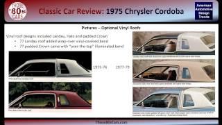 Those-80s-Cars Review: 1975 Chrysler Cordoba