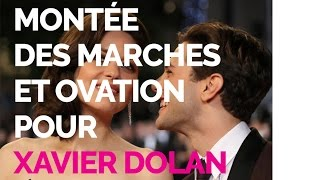 Une montée des marches et une ovation pour Juste la fin du monde de Xavier Dolan