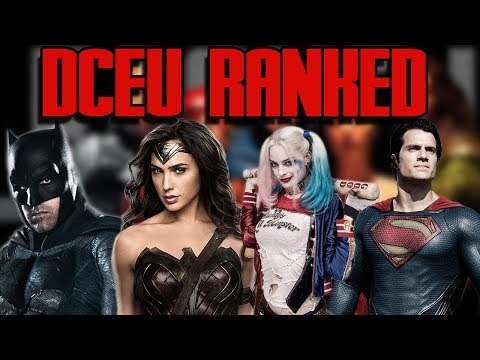 DC Movies Ranked | DCEU best to worst | Justice League, Wonder Woman, Batman vs Superman and more