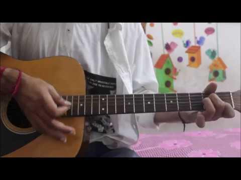 Dekhte Dekhte - Atif Aslam - Hindi Guitar Cover Lesson chords easy - Shahid , Shraddha