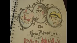 Grim Adventures of Billy and Mandy - Speed Draw