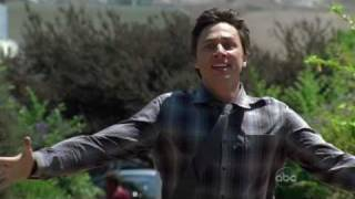 JD and Turk run to each other Scrubs Season 9 Guy Love