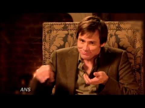JIM CARREY BASED SCROOGE OFF OF BUSINESS MANAGER FOR A CHRISTMAS CAROL - YouTube