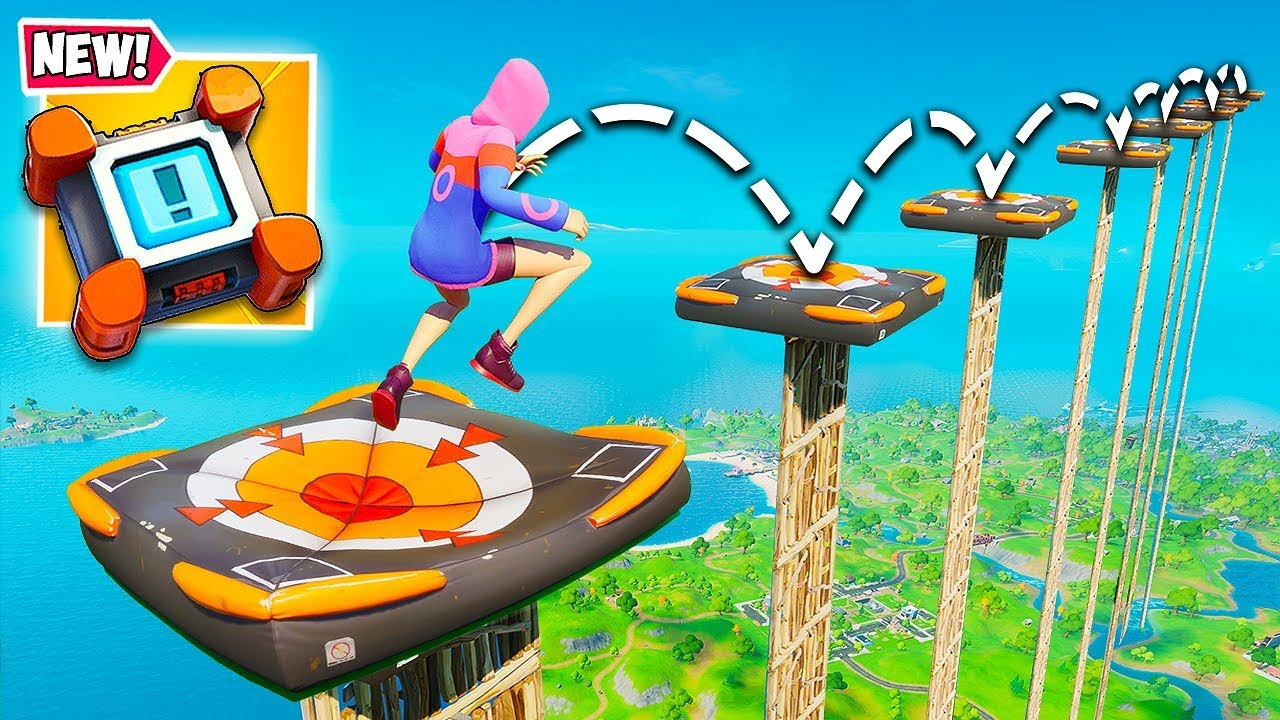 *WORLD'S BEST* CRASH PAD PLAY!! - Fortnite Funny Fails and WTF Moments! #870