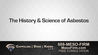 Asbestos Attorney Richard Dodd Explains the History and Science Behind Asbestos Diseases