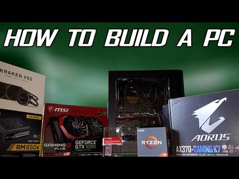 FULL PC Build Guide [Ryzen 7 1800x / GTX 1080 / 16GB RAM / SSD / HDD / Radiator]