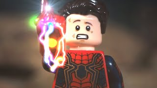 Marvel What if Spider-Man Snap in Avengers Endgame Final Battle Ending Lego Stop Motion
