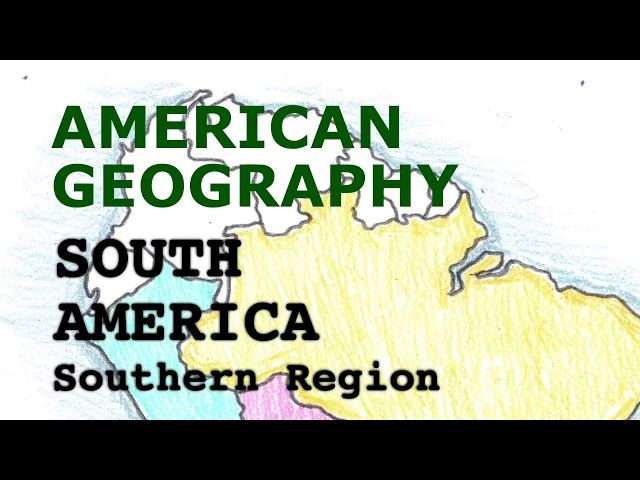 America Geography Song, South America Part 2