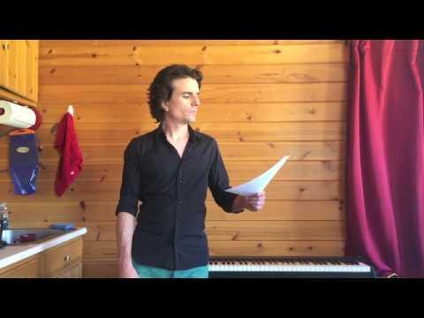 Andrew Crowe - Man Of La Mancha audition