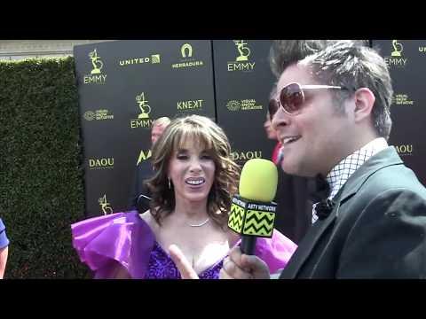 Kate Linder at 2018 Daytime Emmy Awards Red Carpet