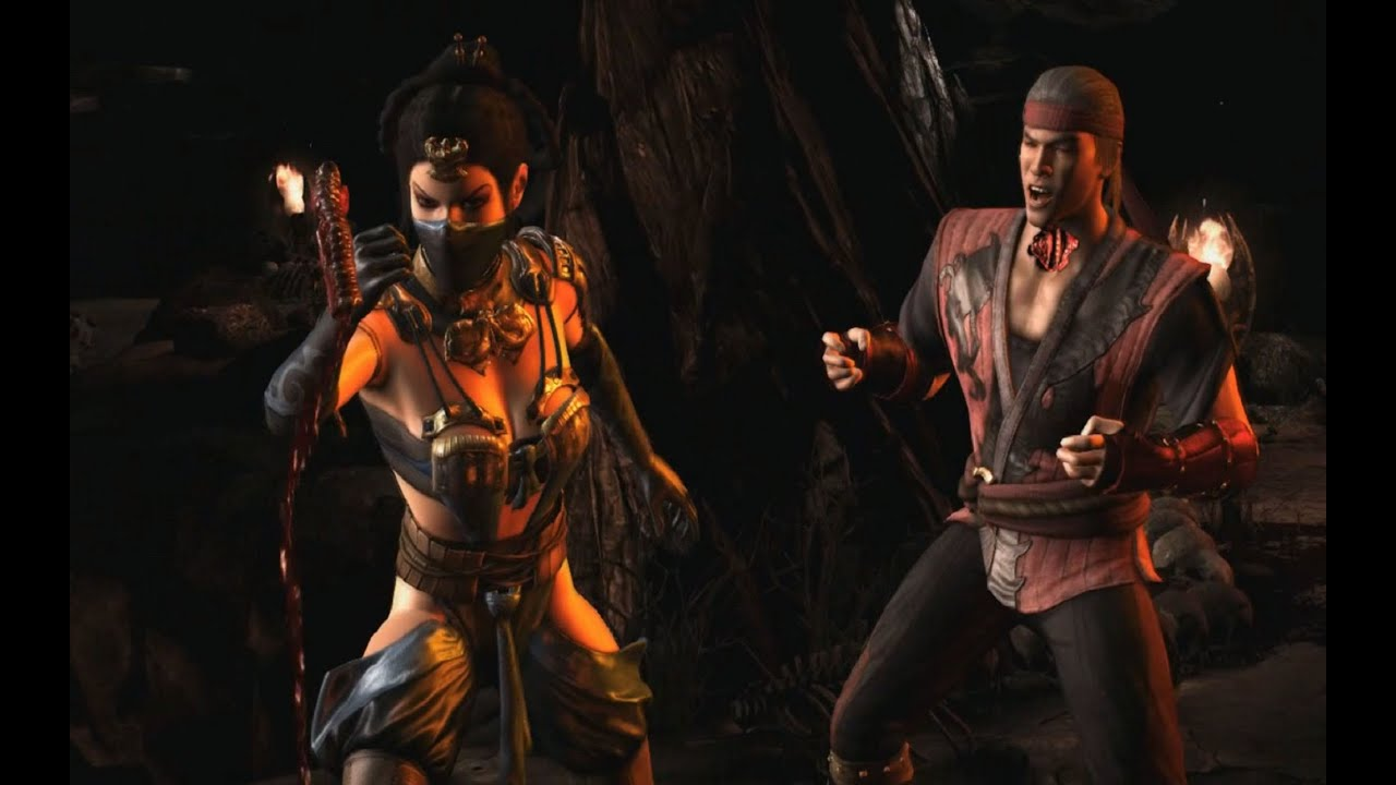 Mortal kombat kitana and liu kang love - photo#14
