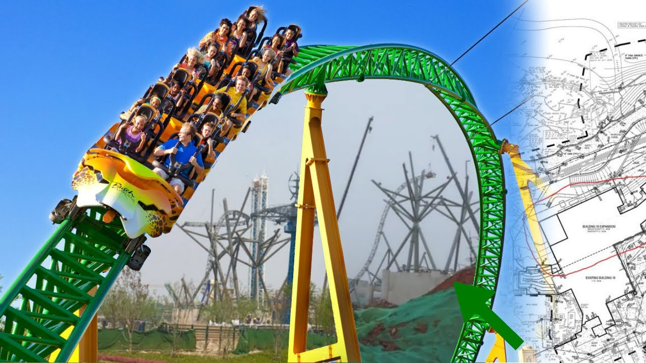 Cheetah Hunt is getting CLONED! (NEW Intamin Blitz)