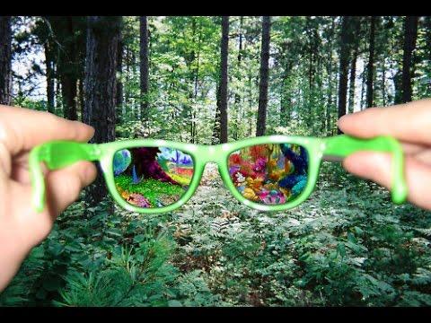 Como ficar sob efeito de drogas   LSD Visual
