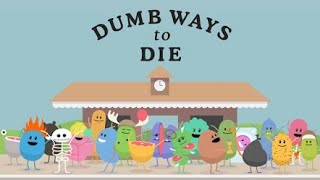 Playing dumb ways to die. This is super dumb