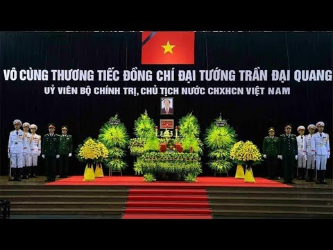 Toàn cảnh Lễ viếng Chủ tịch nước Trần Đại Quang