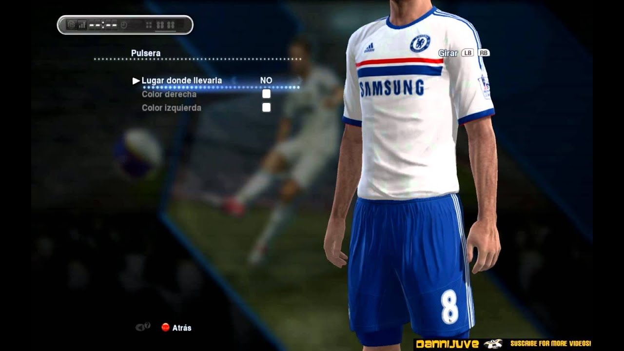 1c92a6b3f6fb30 PES 2013 - Chelsea New Kit 2013/2014 [Home-Away-Third] [HD] - YouTube