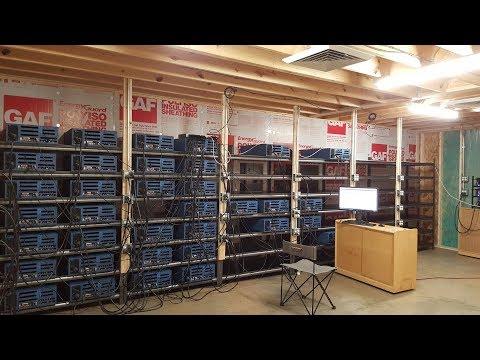 Building a 500 GPU Mining Farm