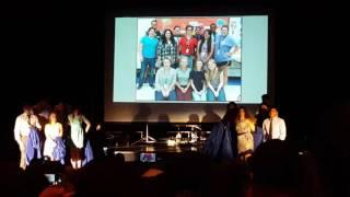 Senior recognition 2016 - brazoswood choir