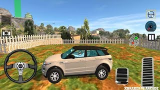 Offroad Prado Car Driver Fortuner Racing Simulator l White Suv 4x4 All Levels - Android GamePlay FHD