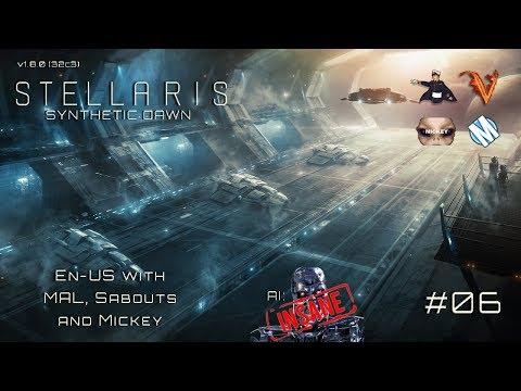 Stellaris - Let`s Play (En-US) - Insane Roboforce - Ep. 06 - Capek v1.8.0 - Synthetic Dawn
