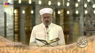Mukabele Osman Şahin 1.Cüz - TRT DİYANET 2017 Video