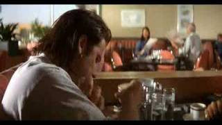 Pulp fiction Restaurant Scene