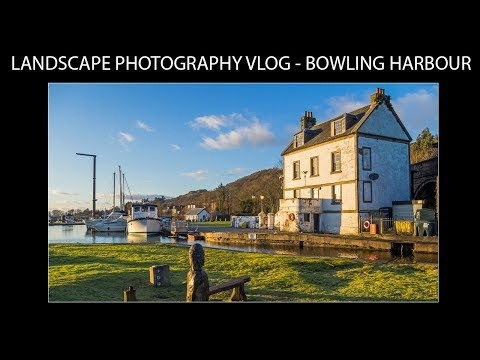 Landscape Photography Vlog - Bowling Harbour
