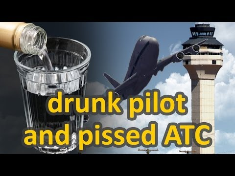 VatSim chaos + pissed ATC and drunk pilot