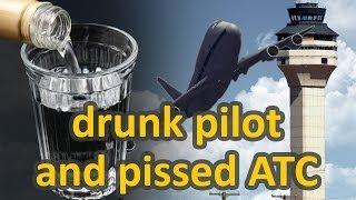 VatSim chaos + pissed ATC and drunk pilot