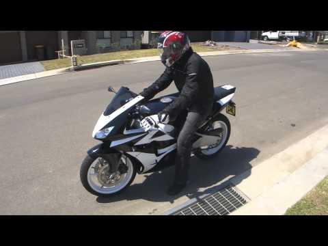 1992 Honda CBR250RR MC22 - Tyga Fairing Kit, Musarri Exhaust (F1 Sound) (HD)