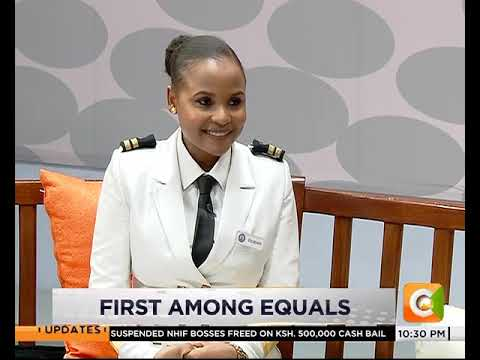 First among equals |Elizabeth Marami is the first marine pilot