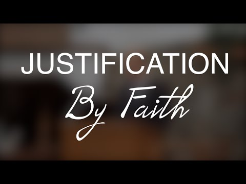 the justification by faith Seventh-day adventists have not escaped accusations that they do not really hold the biblical teaching of justification by grace alone through faith alone.