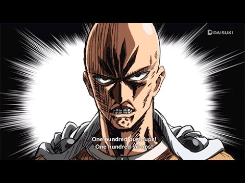 One Punch Man--Saitama Training in real life/ワンパンマン 弟子になって ...