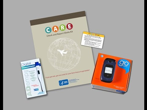 Check and Report Ebola (CARE) Kits – How to Monitor Your Health
