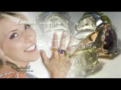 """Castaldi jewellery  spot """"Collezione  2009"""""""