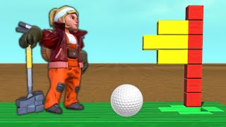 One of Slogoman's most viewed videos: CRAZY MINI GOLF CHALLENGE!? (Scrap Mechanic)