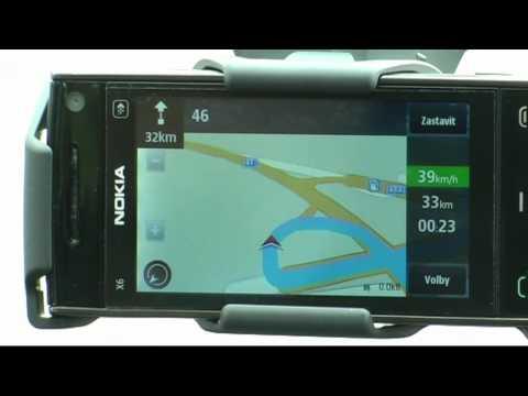 NOKIA X6 16GB - uživatelský test navigace 2.část