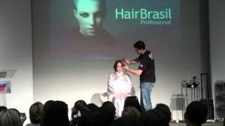 Workshop de Rodrigo De La Lastra na Hair Brasil 2012