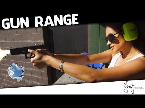 Gun Training at the Shooting Range | Behind the Scenes