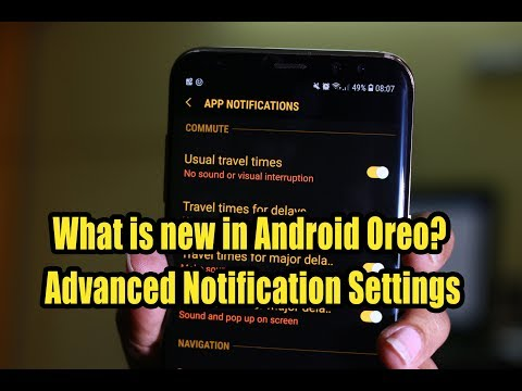 What is new in Android Oreo? Advanced Notification Settings