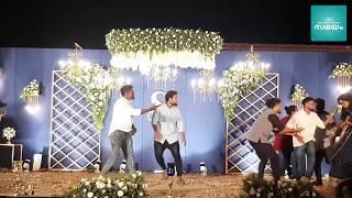 Ranjini's friends dance at Sunny Wayne's wedding reception