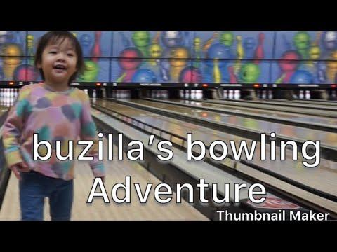 Buzilla goes bowling at pacific bowl in Stockton ca.