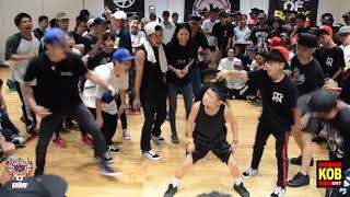 KIDS BEST 8 ③|Baby Street Beast vs Child Twiggz|EBS JAPAN 2018|2018.08.05