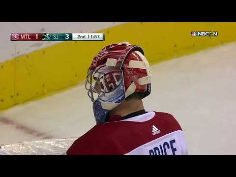 Montreal Canadiens vs San Jose Sharks - October 17, 2017 | Game Highlights | NHL 2017/18