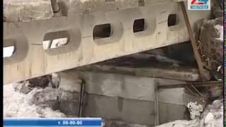 Незаконную постройку обнаружили над Шильной